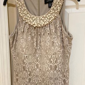 Champagne size 14 formal dress